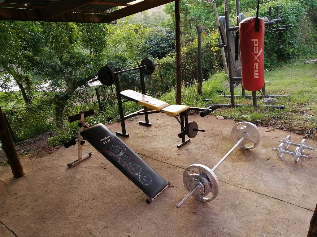 Godsolve durban holiday accommodation mini gym