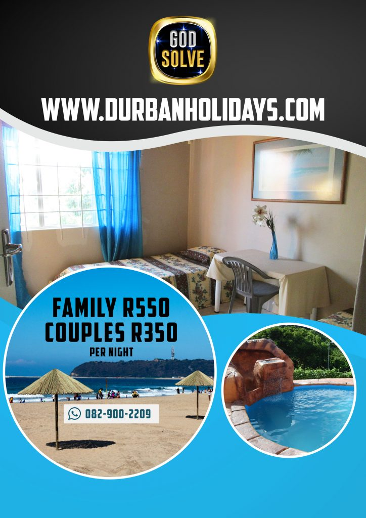 Durban Holiday Accommodation Durban Self Catering